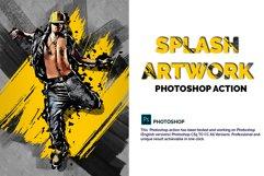 Splash Artwork Photoshop Action Product Image 1
