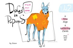 Dogs In Popons - It's all about Love Product Image 1