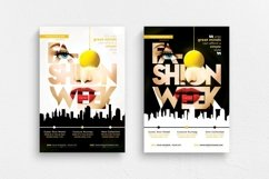 Fashion Week Flyer Template Product Image 1