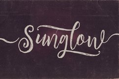 Sunglow Font Duo Product Image 5
