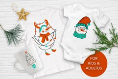 Snowman Christmas Graphic Pack. Product Image 4