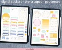 Digital planner piñata stickers Goodnotes and precropped png Product Image 4