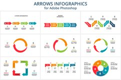 Arrows animated infographics Product Image 4