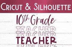 Tenth Grade Teacher SVG | Teacher Shirt SVG Product Image 2