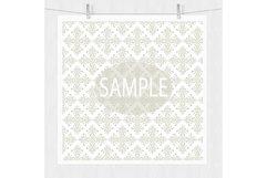 Wedding Damask Pattern Digital Paper Product Image 3