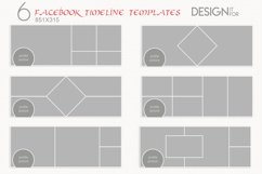 Facebook Timeline Cover Template, PSD Product Image 1
