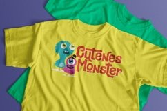 Cutenes Monster - Funny Font Product Image 5
