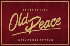 Old Peace Product Image 2