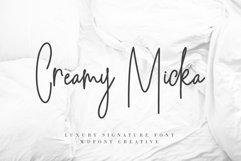 Creamy Micka | Luxury Signature Font Product Image 1