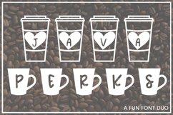 Java Perks - A Fun Font Duo Product Image 1