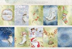 Magic Winter Watercolors. SALE! Product Image 6