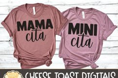 Mommy and Me SVG - Mamacita | Minicita - Cinco de Mayo Product Image 4