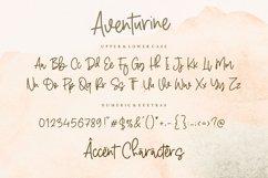 Aventurine Monoline Handwritten Font Product Image 6
