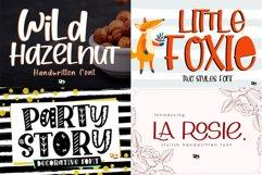 BIG BUNDLE - Seasonal Crafting Font Collection!! Product Image 9