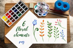 Spring branches. Watercolor set. PNG, JPG Product Image 2