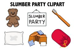 Slumber Party Clipart Product Image 1
