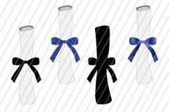Blue Graduation Bundle Files / PNG, DXF, SVG / 14 Files Product Image 3