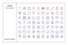Line Icons - Love Product Image 6