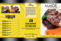 Restaurant Brochure Menu Product Image 4