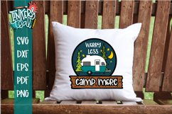 Worry Less Camp More Hitch SVG Product Image 1