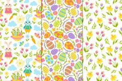12 Spring and Easter seamless patterns Product Image 4