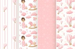 Baby girls paper design for scrapbooking Product Image 6
