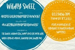 Wildly Sweet Handwritten Font Product Image 2
