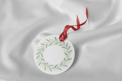 Wreath Frame Watercolor PNG and JPEG Product Image 2