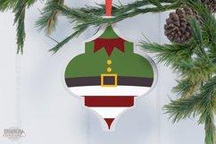 Arabesque Tile Christmas Ornament SVG Bundle Product Image 4