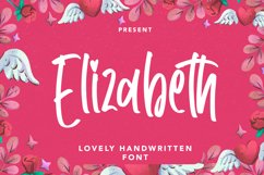 Elizabeth - Lovely Handwritten Font Product Image 1