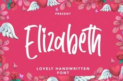 Web Font Elizabeth - Lovely Handwritten Font Product Image 2