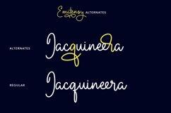 Emitensy Script Font Product Image 3