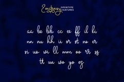 Emitensy Script Font Product Image 5
