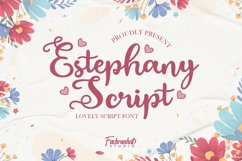 Estephany Script Product Image 1