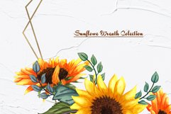 Sunflower Watercolor Frames Product Image 5