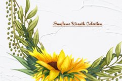 Sunflower Watercolor Frames Product Image 6