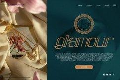 Web Font Evarfine - Modern Display Font Product Image 4