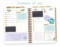 Digital Planner Hand Lettered Font Product Image 3
