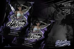 Relentless - Tattoo Font Product Image 2