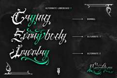 Brightone Vol. 2   Tattoo Lettering Font Product Image 3