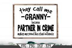They Call Me Granny SVG Product Image 1