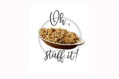 Oh Stuff It, Thanksgiving Sublimation Food Pun Towel Mug Product Image 1
