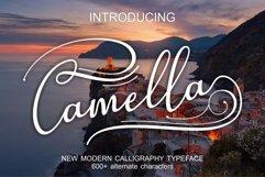 Web Font Camella Product Image 1