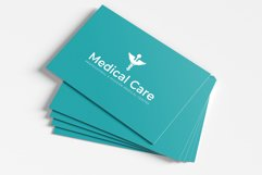 Medical Minimal Business Card Template Product Image 5
