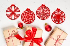 Christmas Ornament Dingbat Font Product Image 5