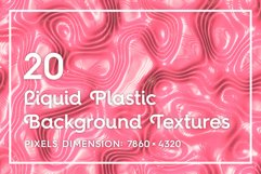 20 Liquid Plastic Backgrounds Product Image 1