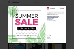 Summer Sale Social Media Templates Pack Product Image 5