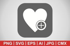 Vector Add To favorite Icon Product Image 1