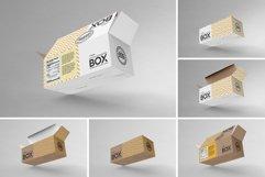 Long Top Tuck Auto Bottom Box Packaging Mockup Product Image 5