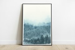 Snow Forest in Fog - Wall Art - Digital Print Product Image 2